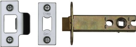 M Marcus York Security YKAL5-PC&PN Architectural Mortice Latch 127mm Polished Chrome/Nickel